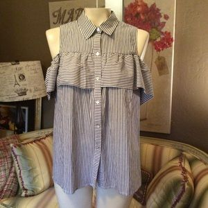 Sunday in Brooklyn Anthropologie Shirt XS new $98